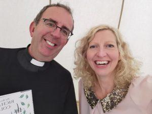 Rev. Coles and Emma Marston